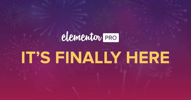 Elementor Pro | Brings A Whole New Design Experience To ...
